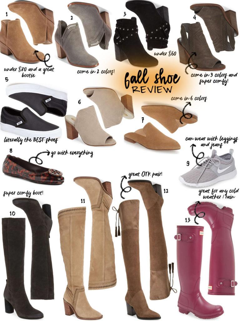 Fall Shoe Review
