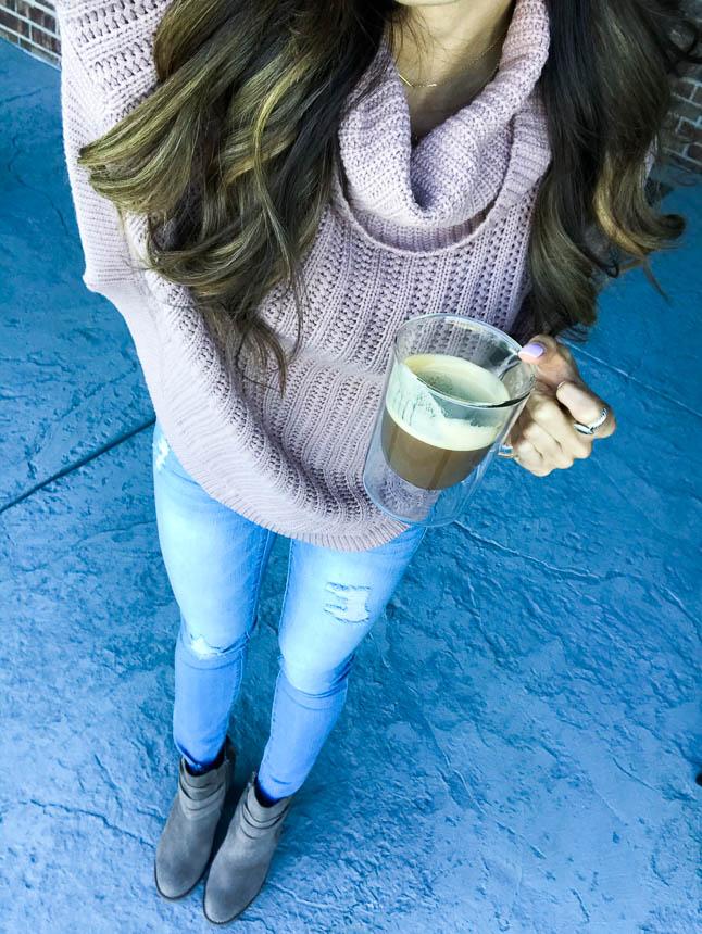 Healthy Pumpkin Spice Latte | adoubledose.com