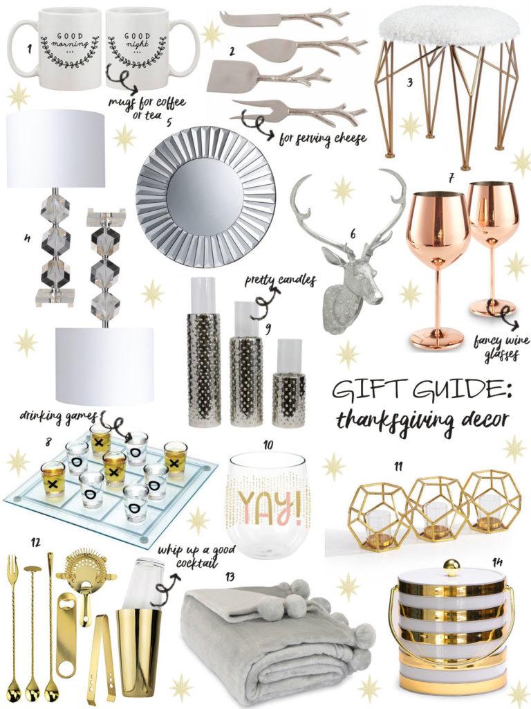 Gift Guide: Thanksgiving Decor