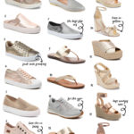 Metallic Shoe Roundup For Spring
