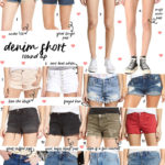 Denim Short Roundup