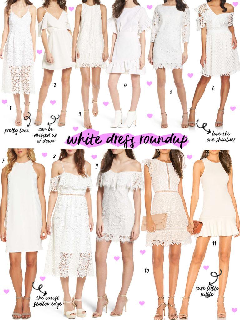 White Dress Roundup