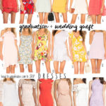 Graduation + Wedding Guest Dresses