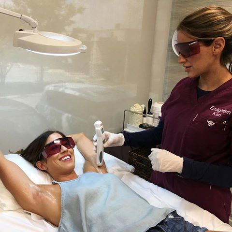 Laser Hair Removal Treatment at Enlighten Dallas | adoubledose.com