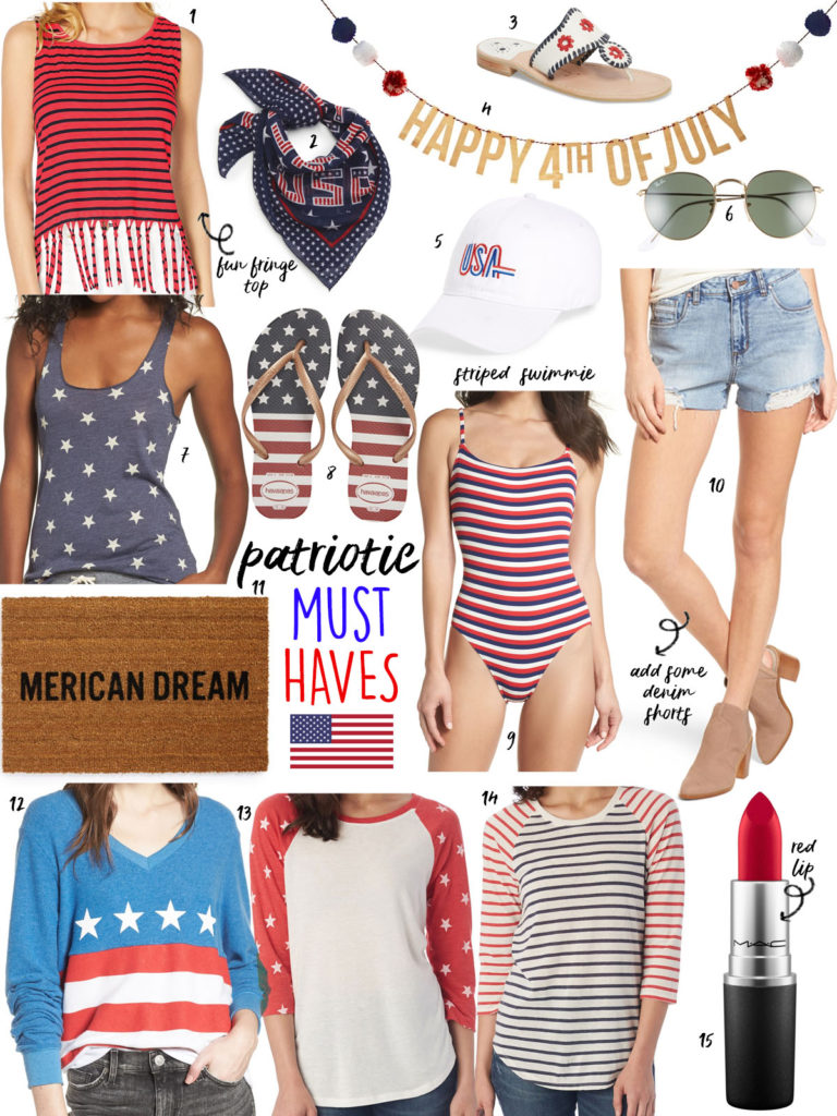 Fourth Of July Outfit Ideas + Weekend Sales