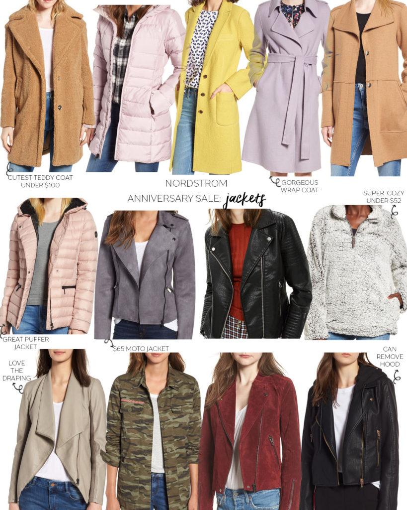 Nordstrom Anniversary Sale 2018: Jackets and Coats | adoubledose.com