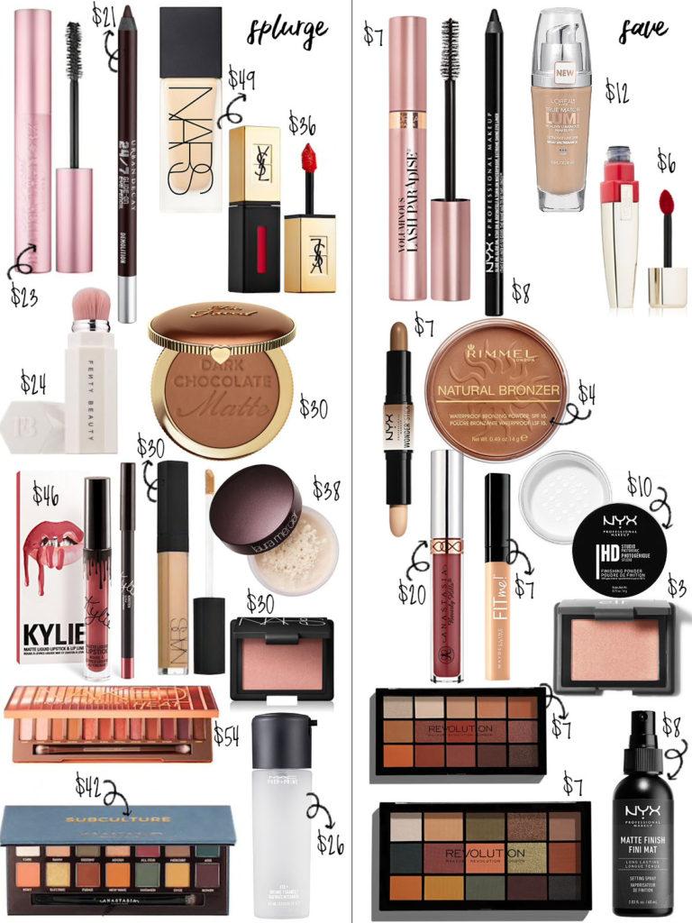 Makeup Dupes | adoubledose.com