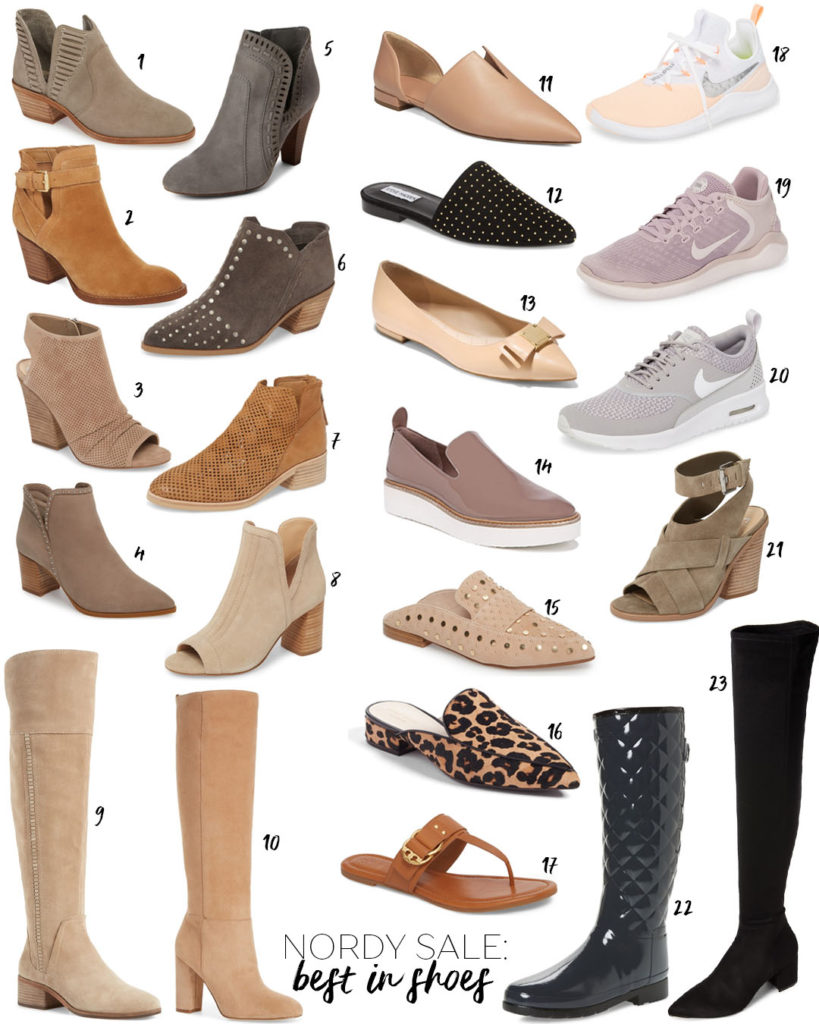 Nordstrom Anniversary Sale 2018:Best Of Shoes | adoubledose.com