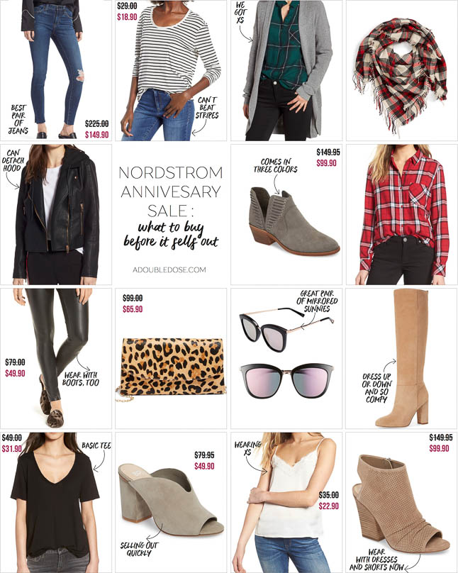 Nordstrom Anniversary Sale 2018: What Will Sell Out | adoubledose.com