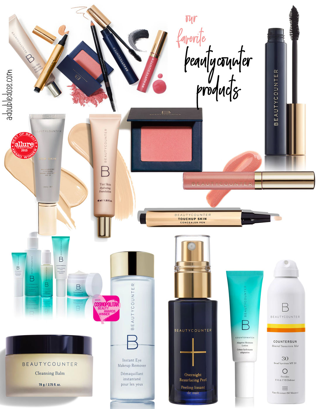 What Natural Makeup And Beauty Products We Are Using