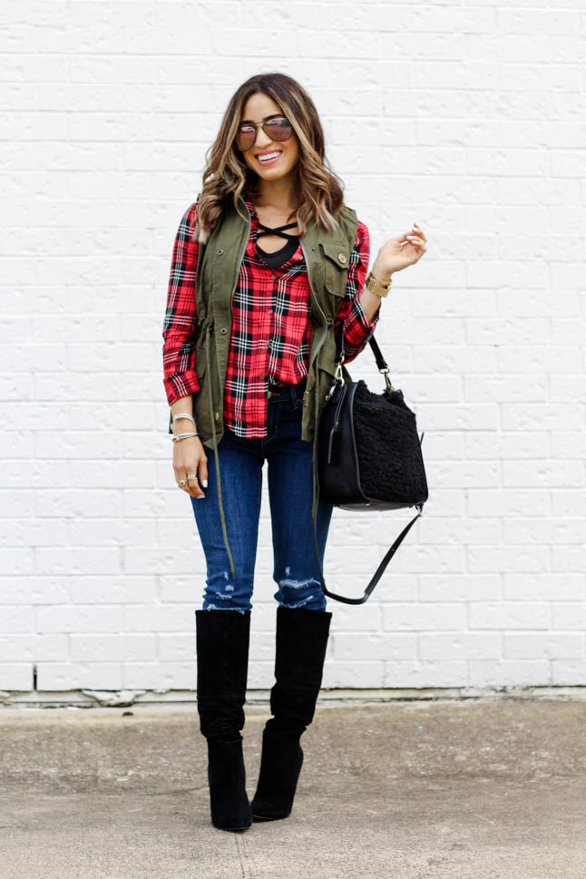 Fall Layering On A Budget