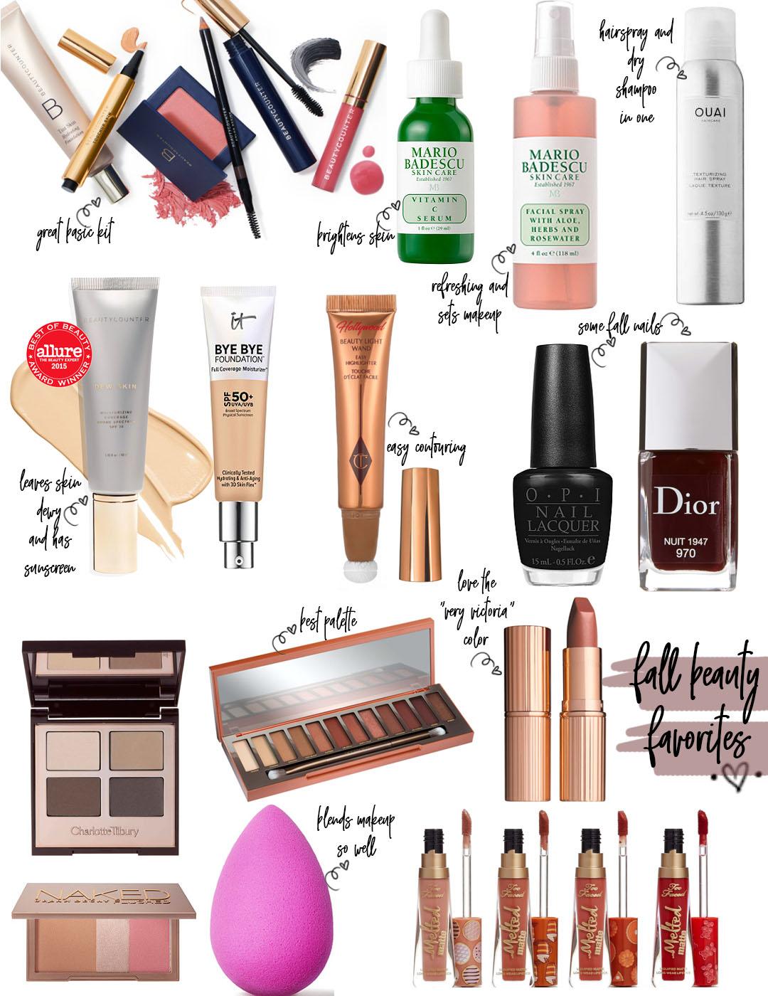 Fall Makeup Favorites | adoubledose.com
