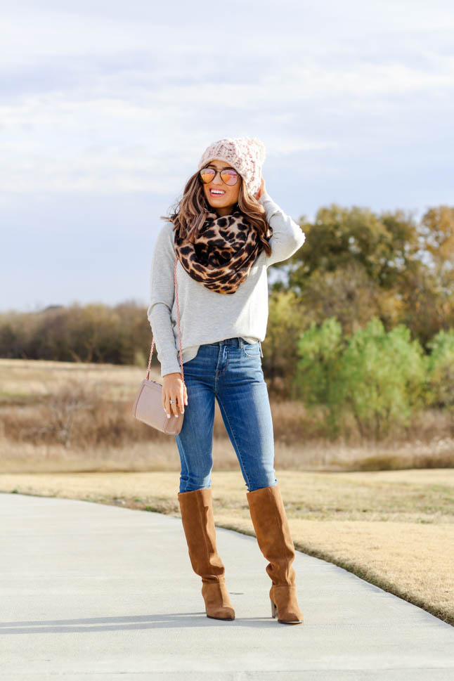 How To Style A Leopard Scarf | adoubledose.com
