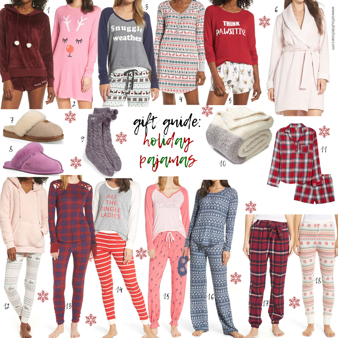 GIFT GUIDE 2018:  HOLIDAY PJ's