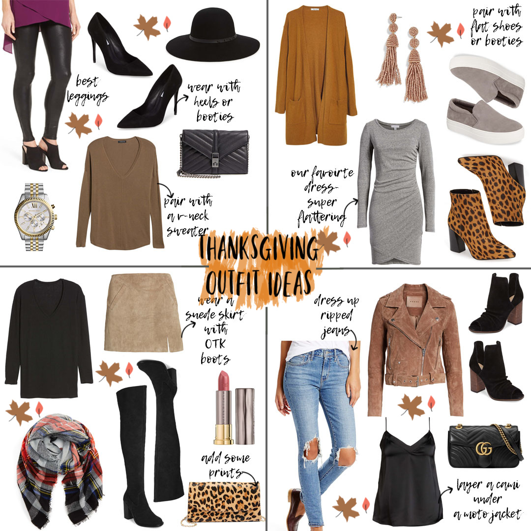 Thanksgiving Outfit Ideas 2018