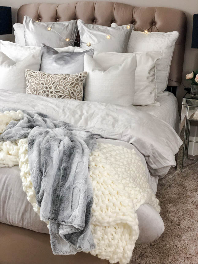 New Bedroom Decor with Bed Bath & Beyond | adoubledose.com