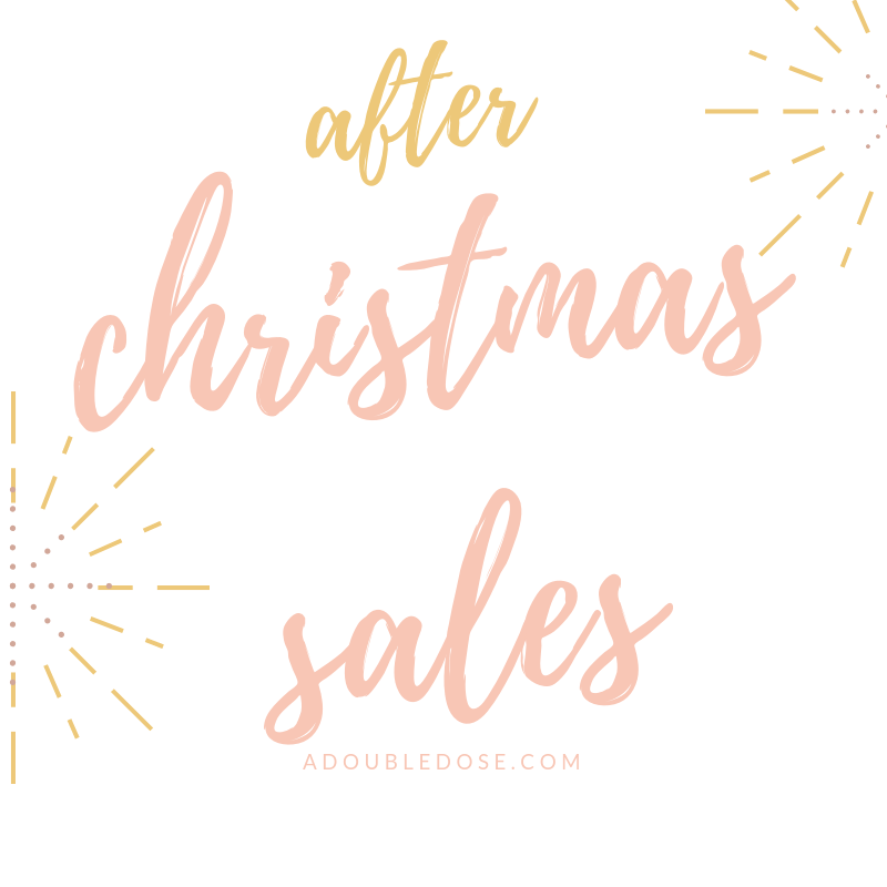 After Christmas Sales 2018
