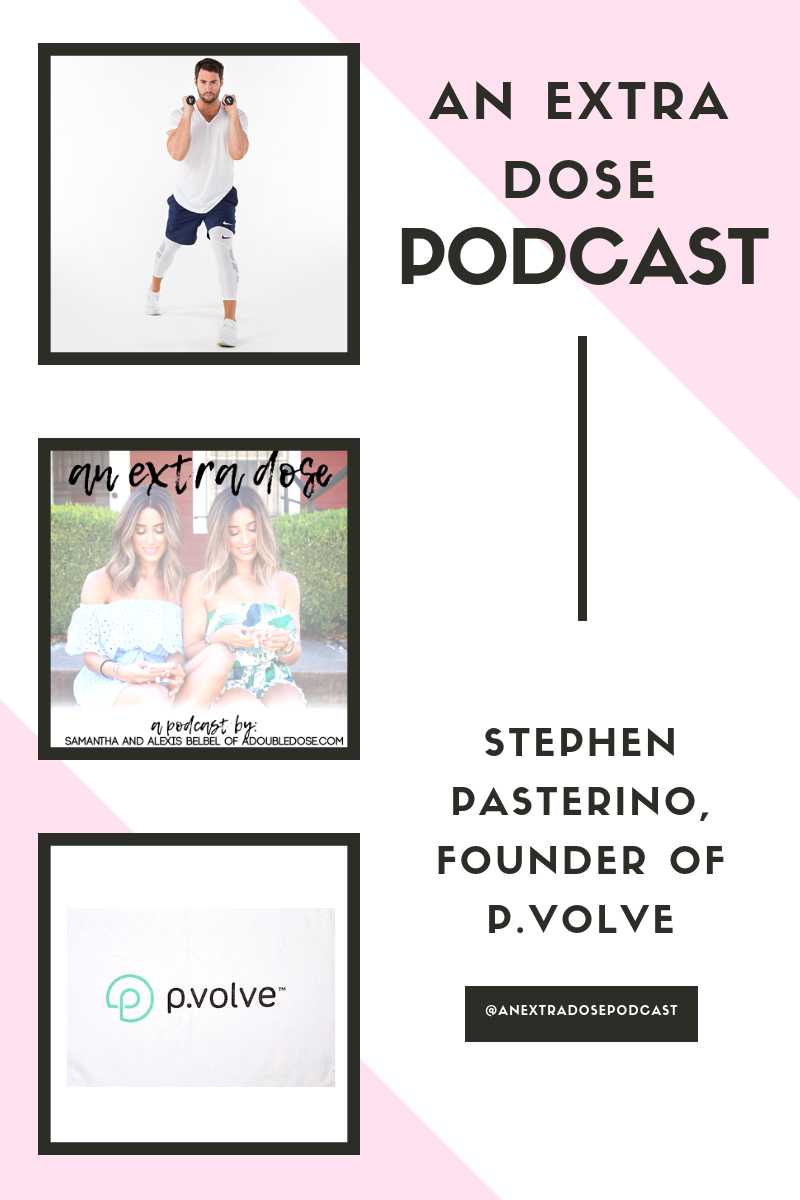 How To Sculpt Your Body At Home With Celeb Trainer Stephen Pasterino Of P.volve: An Extra Dose Podcast