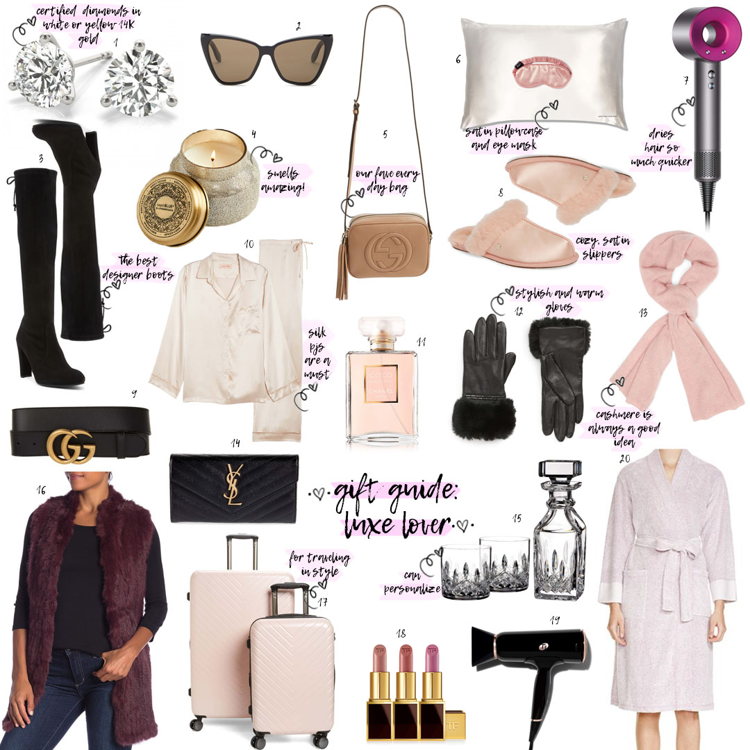 Gift Guide 2018: Luxe Lover