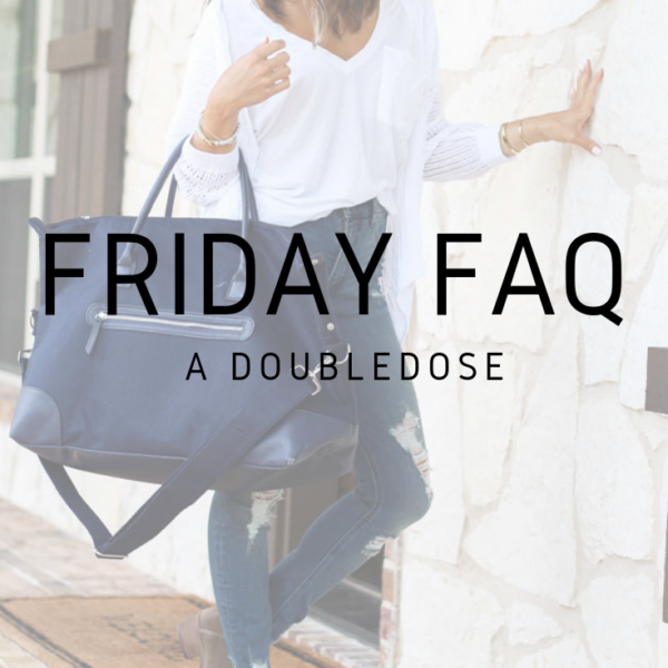 FRIDAY FAQ's .3
