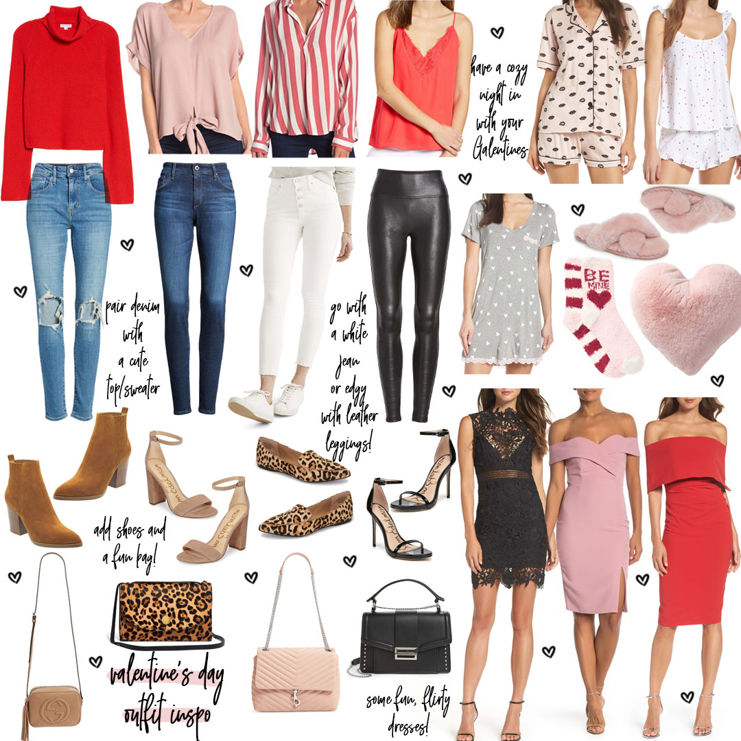 Valentine's Day Outfit Ideas + Gift Ideas 2019