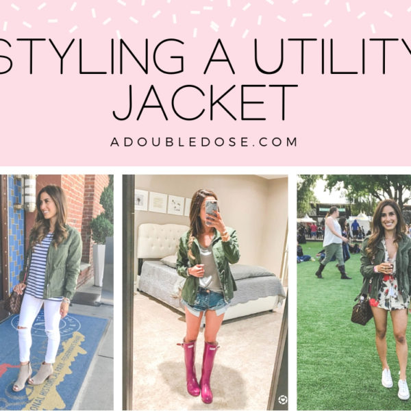 How To Style A Utility Jacket + St. Patrick's Day Outfit Ideas