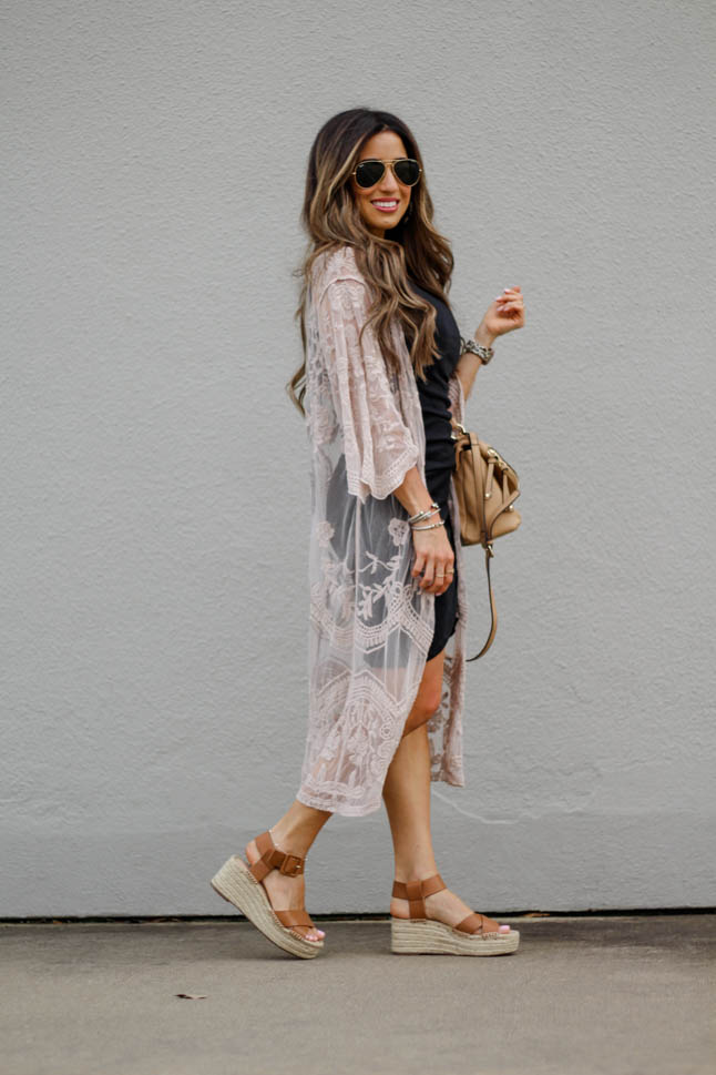 How To Style A Kimono For Spring  | adoubledose.com