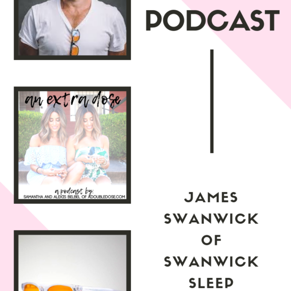 Tips For Better Sleep with James Swanwick of Swanwick Sleep: An Extra Dose Podcast