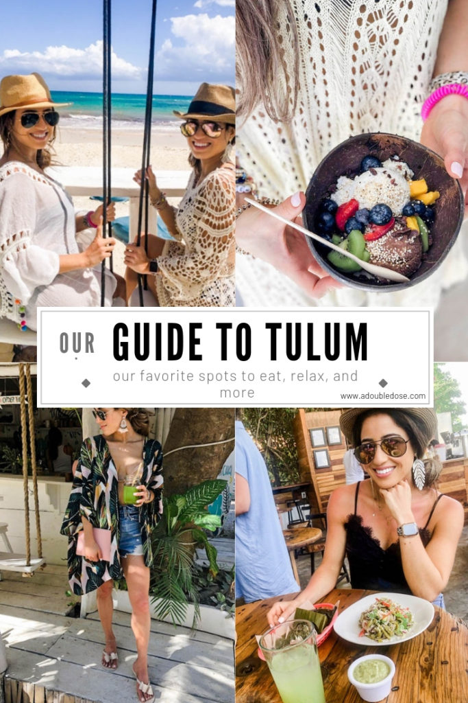 Our Travel Guide To Tulum | adoubledose.com