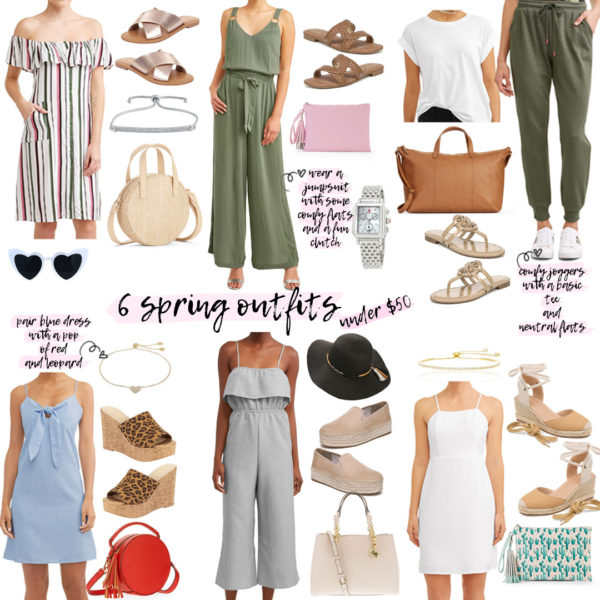 Six Affordable Spring Looks