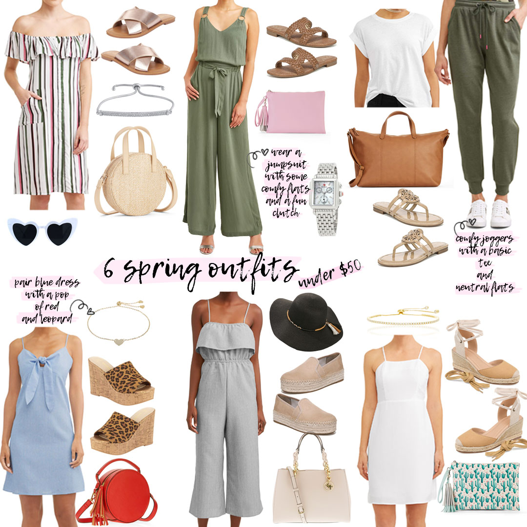 Six Affordable Spring Outfit Ideas | adoubledose.com