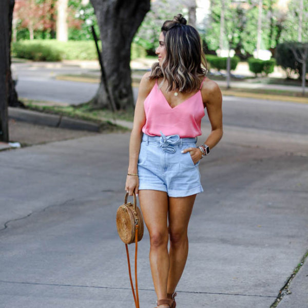 How To Style Paper Bag Shorts