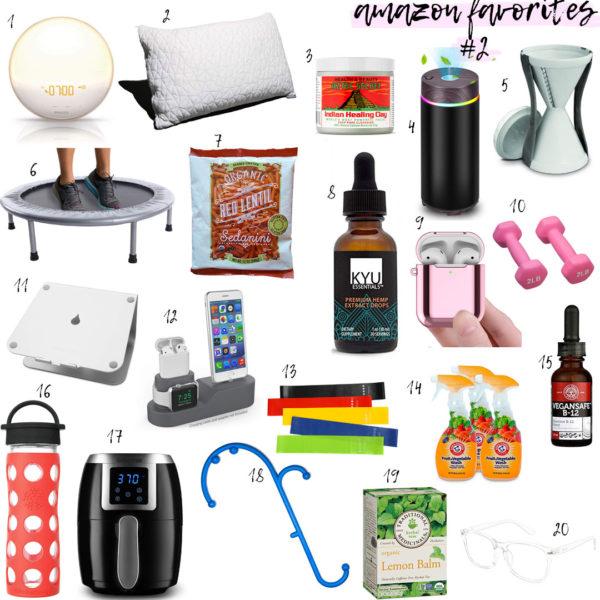 Wellness Wednesday .12 : Amazon Favorites .2 – Wellness Edition