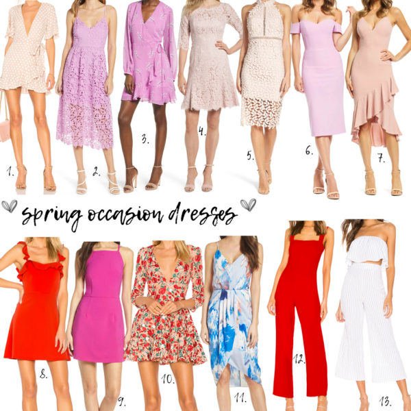 Dresses For Spring Occasions 2019