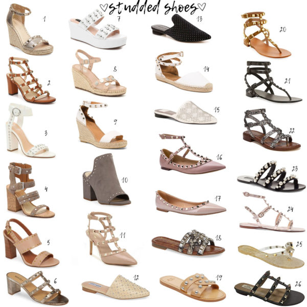 Studded Shoe Roundup