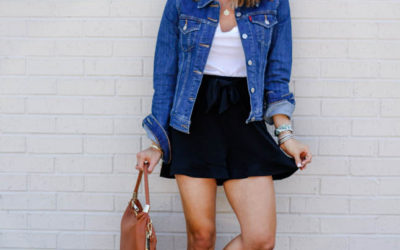 How To Dress Up A Denim Jacket | adoubledose.com