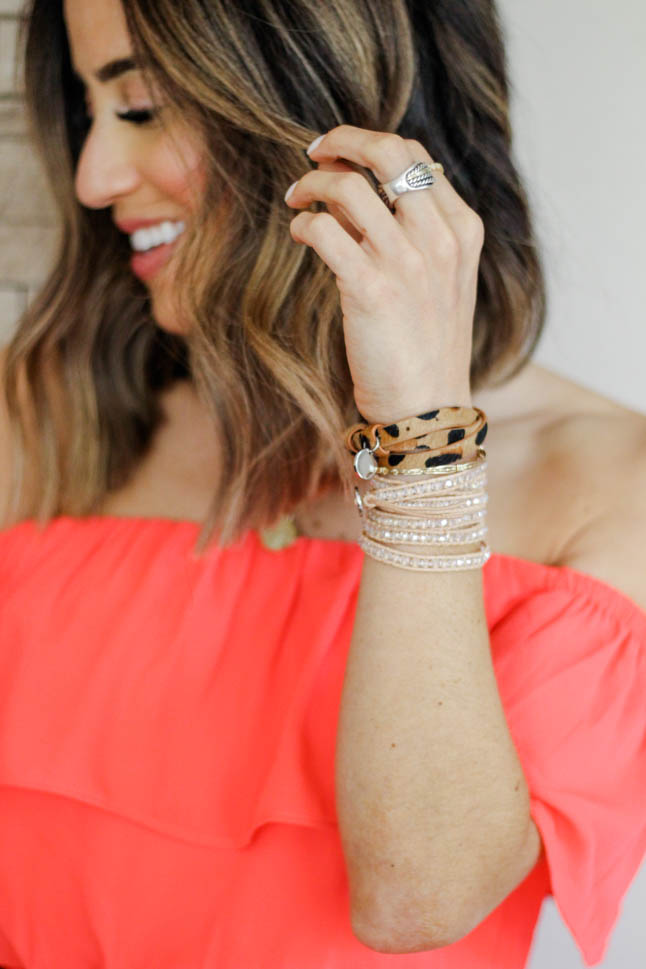 How To Create The Perfect Bracelet Stack | adoubledose.com