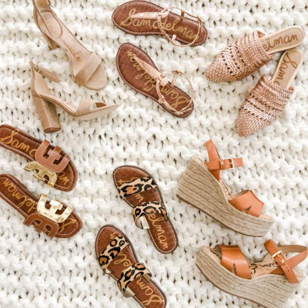 Neutral + Comfy Sandals For Spring/Summer