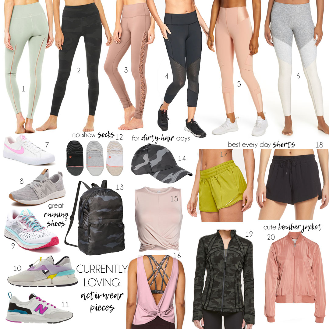 Activewear for Spring and Summer 2019 | adoubledose.com