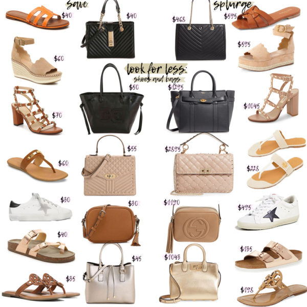 Look For Less: Bags and Shoes For Spring/Summer
