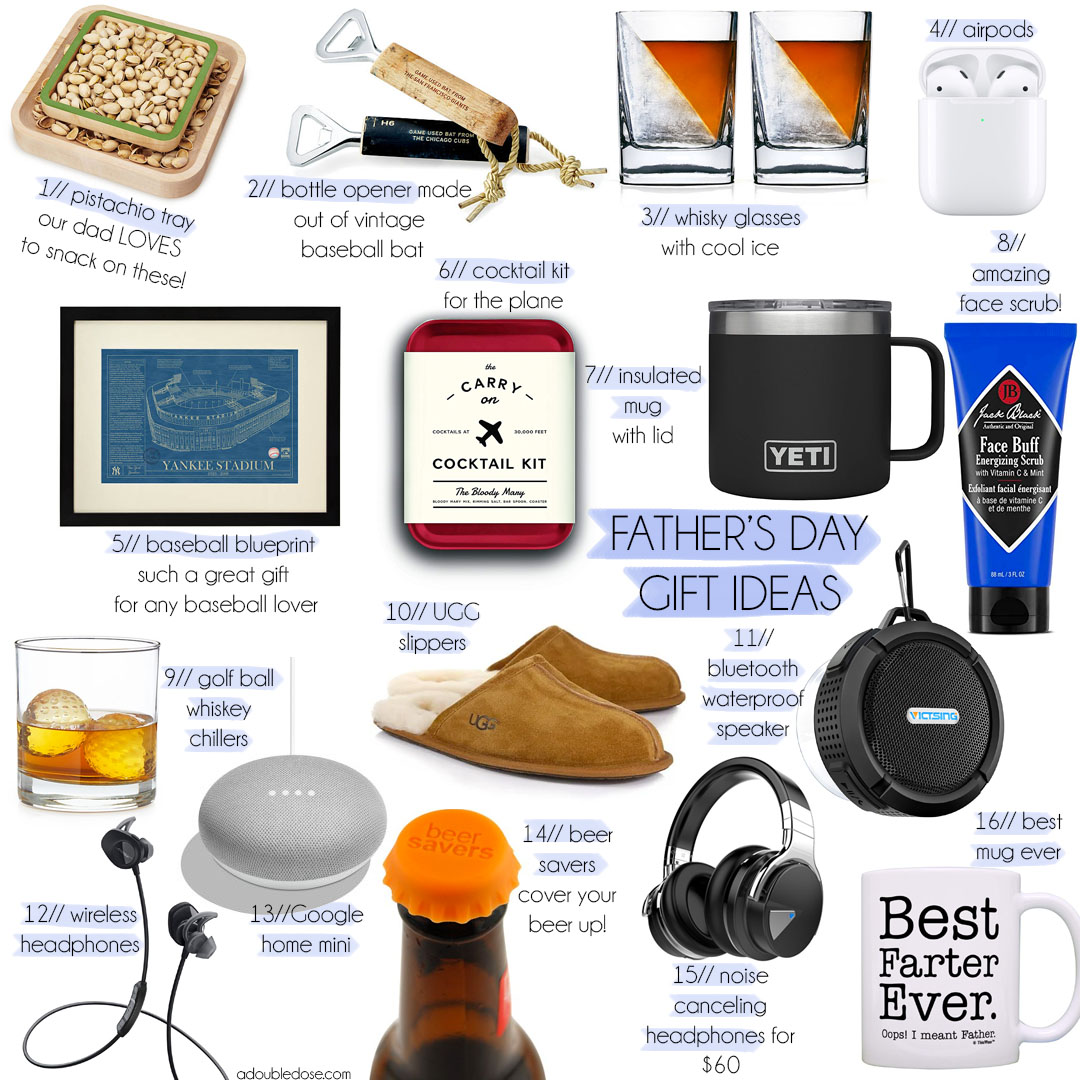 Fathers Day Gift Ideas 2019 | adoubledose.com