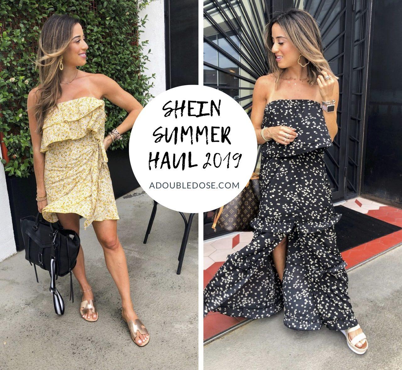 Summer Haul 2019: Shein Favorites   adoubledose.com