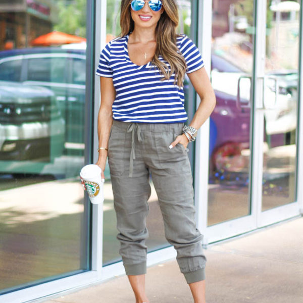How To Style Joggers For Petites