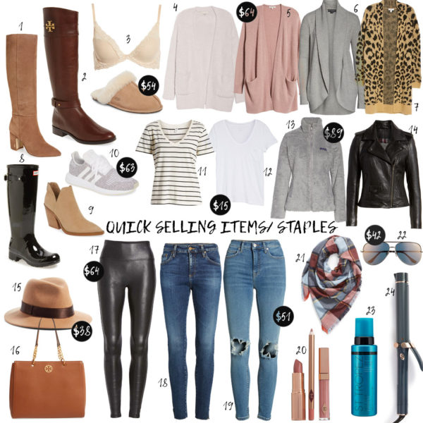 Quick Selling Items From The Nordstrom Anniversary Sale 2019