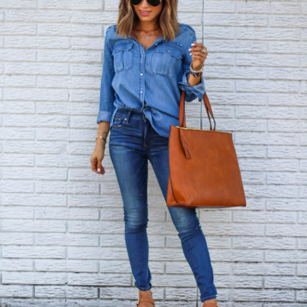 How To Style Denim On Denim Without Looking Like A Farmer