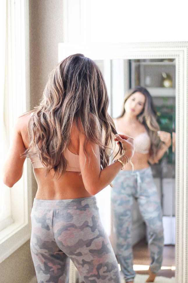 fashion and lifestyle blogger samantha belbel shares her favorite bras for fuller busts with the Birdsong line from Bare Necessities