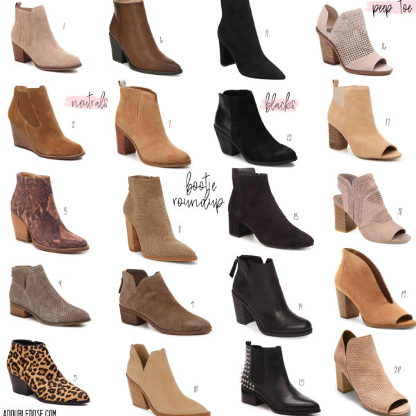 Booties For Fall And Winter 2019