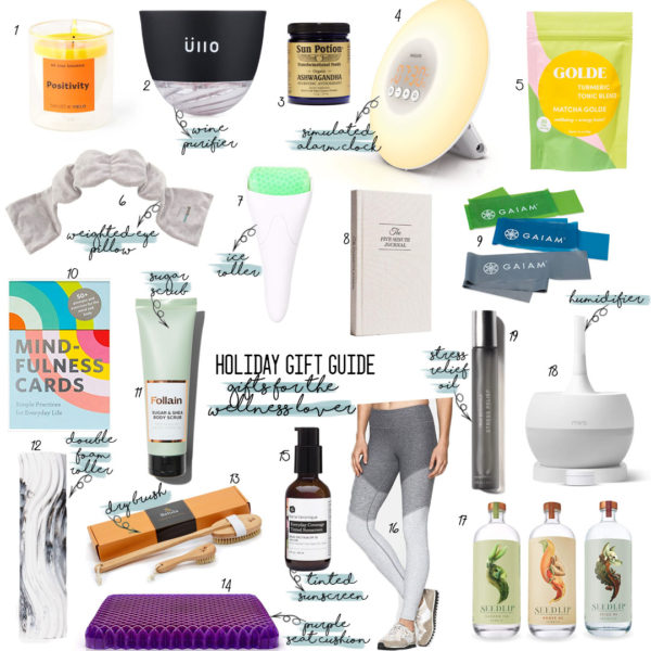 Holiday Gift Guide 2019: Gifts For The Wellness Lover