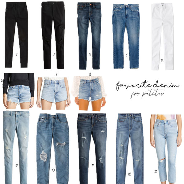 Our Favorite Denim For Petites – Updated