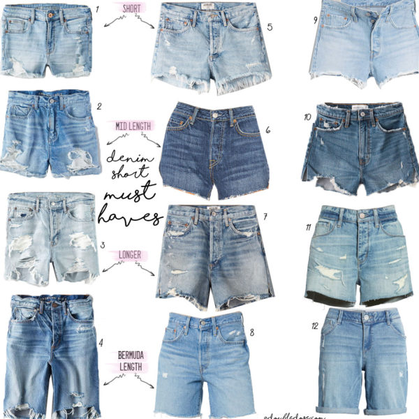 Denim Short Must Haves